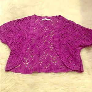 Old navy bolero crochet